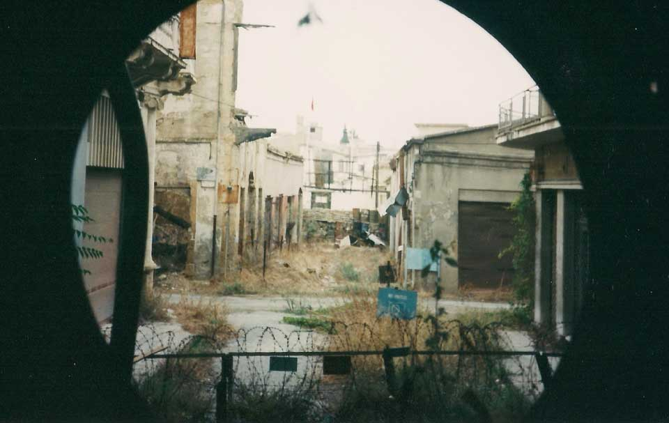 Green Line Ledra Street in 1997
