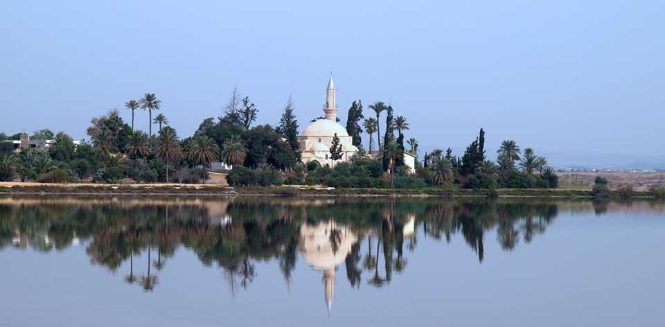 Bezienswaardigheden in Cyprus - Hala Sultan Tekke