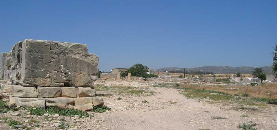 Bezienswaardigheden in Cyprus -Kouklia Afrodite heiligdom