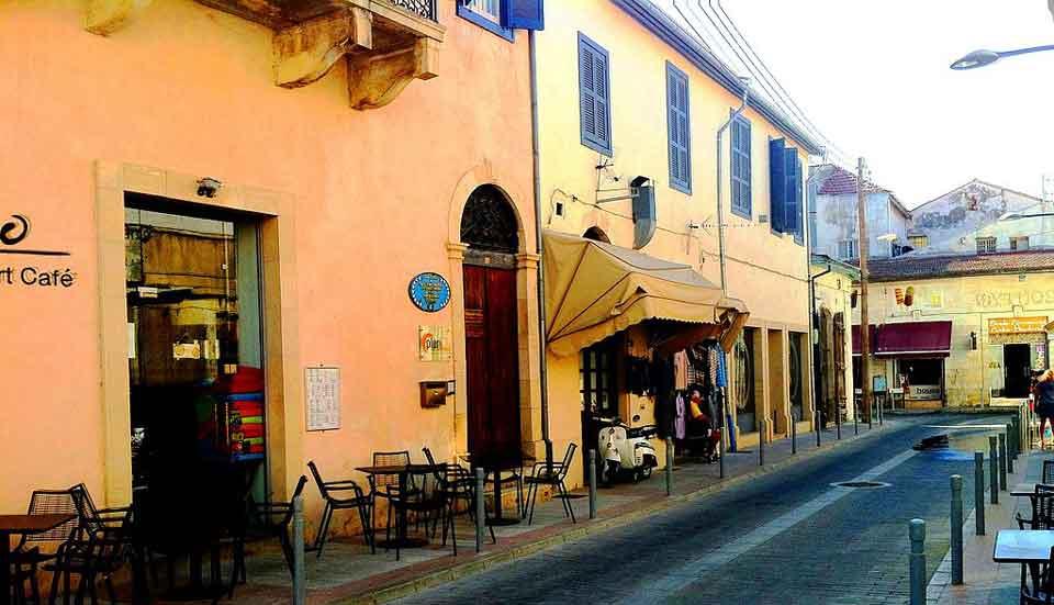 Steden en dorpen in Cyprus -Limassol : oude binnenstad