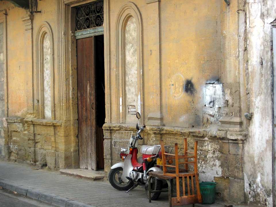 Nicosia straatbeeld